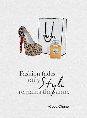 Style Remains The Same Poster by Rebecca Jenkins