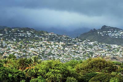 Suburb Of Honolulu Poster by Babak Tafreshi