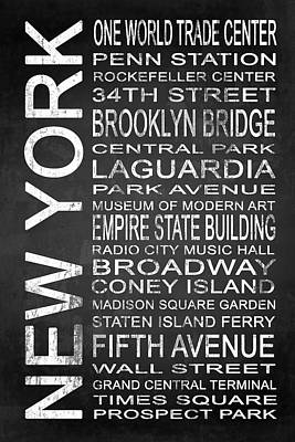 Subway New York 3 Poster by Melissa Smith