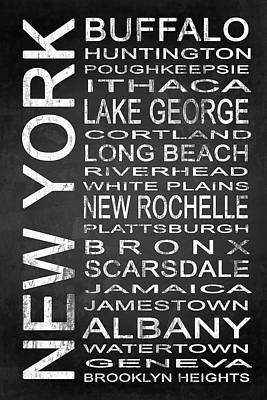 Subway New York State 1 Poster by Melissa Smith