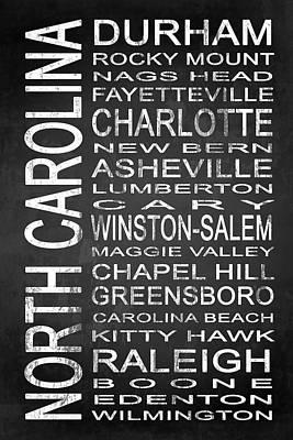 Subway North Carolina State 1 Poster by Melissa Smith