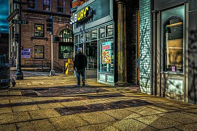 Subway Sunrise Poster by Bob Orsillo