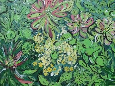 Succulents At Alcatraz Poster by Jamie Scott
