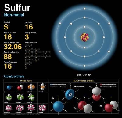 Sulfur Poster by Carlos Clarivan