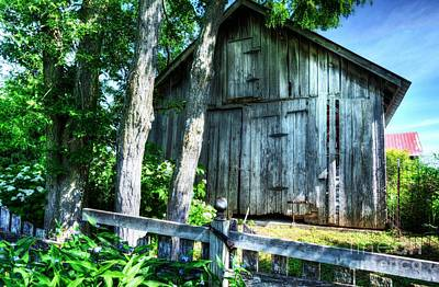 Summer Country Barn Poster by Mel Steinhauer