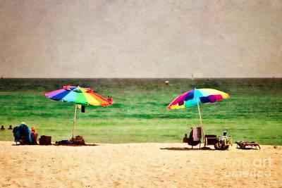 Summer Days At The Beach Poster by Scott Pellegrin