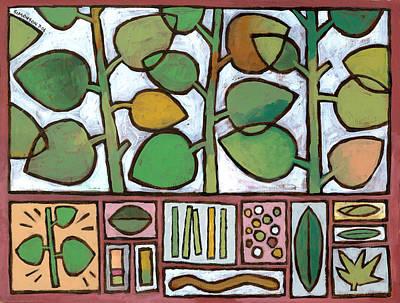 Summer Salad Poster by Douglas Simonson