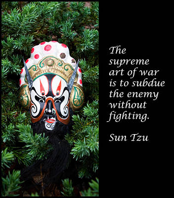Sun Tzu's The Art Of War Poster by William Patrick