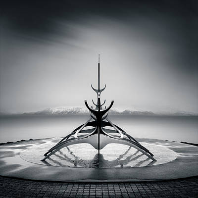 Sun Voyager Poster by Dave Bowman