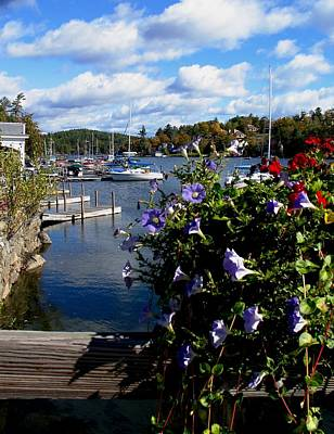 Sunapee Harbor 1 Poster by Will Boutin Photos