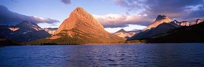 Sunlight Falling On Mountains Poster by Panoramic Images