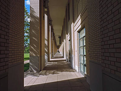 Sunlit Arches Of Carnegie Mellon University Poster by Cityscape Photography
