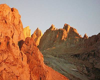 Sunrise At Mount Whitney Poster by David Lobos