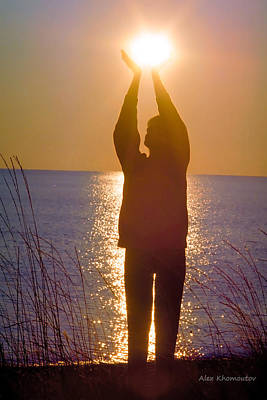 Sunrise - Healing Light Poster by Alex Khomoutov
