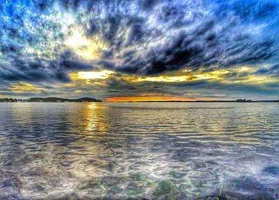 Sunset Over Lake Ontario Poster by Erik Kaplan