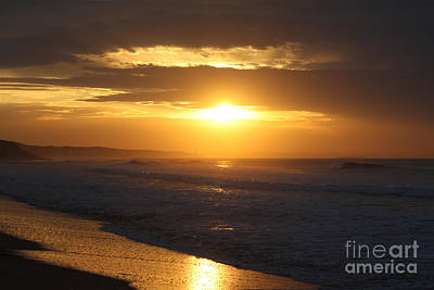 Sunrise Over Point Lonsdale Poster by Linda Lees