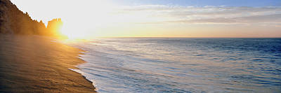 Sunrise Over The Beach, Lands End, Baja Poster by Panoramic Images