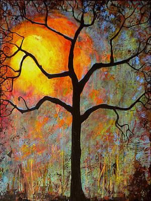 Sunrise Sunset Poster by Blenda Studio