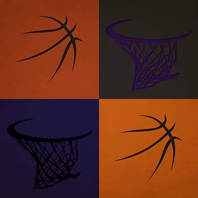 Suns Ball And Hoop Poster by Joe Hamilton