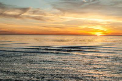 Sunset Cliffs 10 Poster by Josh Whalen