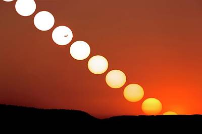 Sunset Multiple Exposure Poster by Dr Juerg Alean