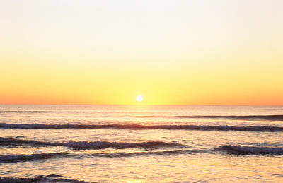 Sunset Over Sea Poster by Panoramic Images