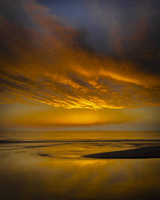 Sunset Power Poster by Thomas Pettengill