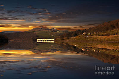 Sunset Reflections Poster by Nigel Hatton