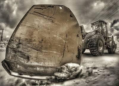 Super Plow Poster by Lliem Seven