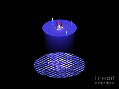 Superconductor Surface, Stm Poster by Drs. Ali Yazdani & Daniel J. Hornbaker