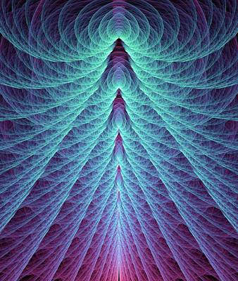 Supersymmetr Poster by David Parker