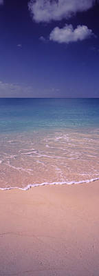 Surf On The Beach, Bahamas Poster by Panoramic Images