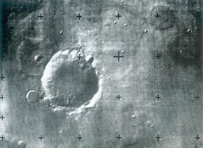 Surface Of Mars Poster by Detlev Van Ravenswaay