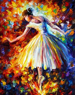 Surrounded Poster by Leonid Afremov