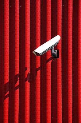 Surveillance Camera Poster by Borislav Marinic