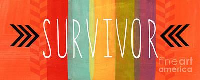 Survivor Poster by Linda Woods