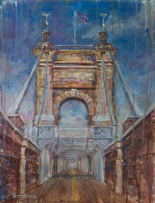 Roebling Poster by Josh Hertzenberg