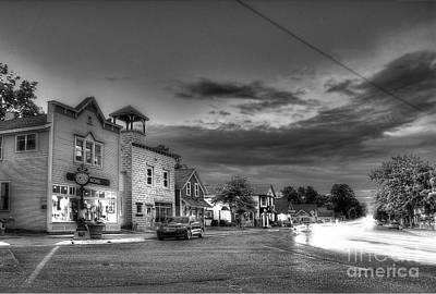 Sutton's Bay In Black And White Poster by Twenty Two North Photography