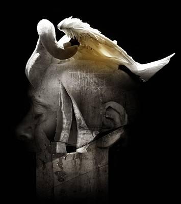 Swan Poster by Johan Lilja