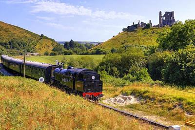 Swanage Steam Railway Poster by Joana Kruse