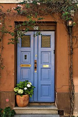 Swedish Door Poster by Emma Motte