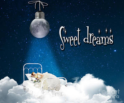 Sweet Dreams Poster by Juli Scalzi