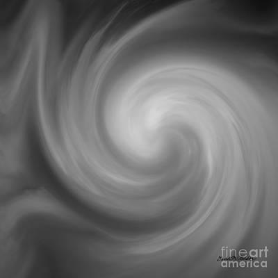 Swirl Wave I Poster by David Gordon