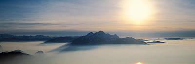 Switzerland, Luzern, Pilatus Mountain Poster by Panoramic Images