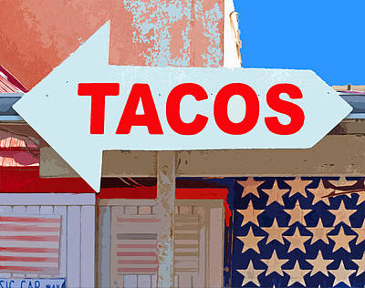 Tacos Poster by Charlette Miller