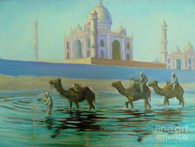 Taj Mahal Poster by John Malone