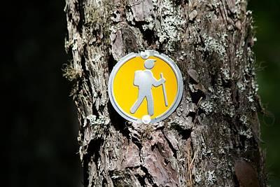 Take A Hike Poster by Allan Morrison
