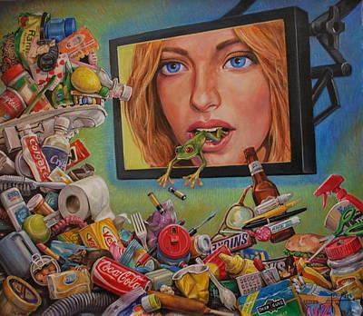 Talking Trash Poster by Henry David Potwin