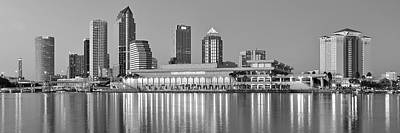 Tampa Panorama Poster by Frozen in Time Fine Art Photography