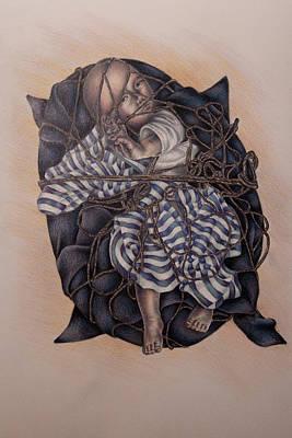 Tangled Poster by Lisa Marie Szkolnik